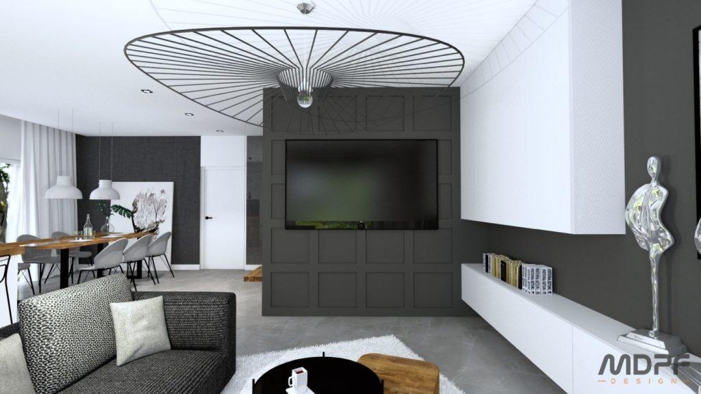 salon w Tarnowie - wizualizacja