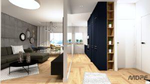 wizualizacja mieszkania w Nowym Sączu