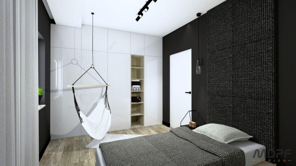 projekt sypialni w Krośnie
